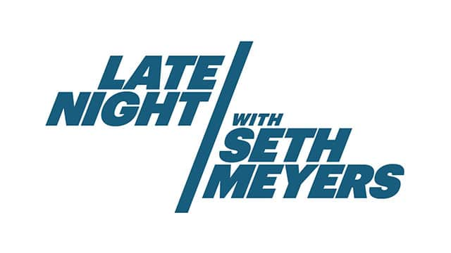LATE NIGHT WITH SETH MEYERS: Interview - August 2017