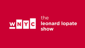 "WNYC ""The Leonard Lopate Show"" : Audio Interview - August 4, 2017"