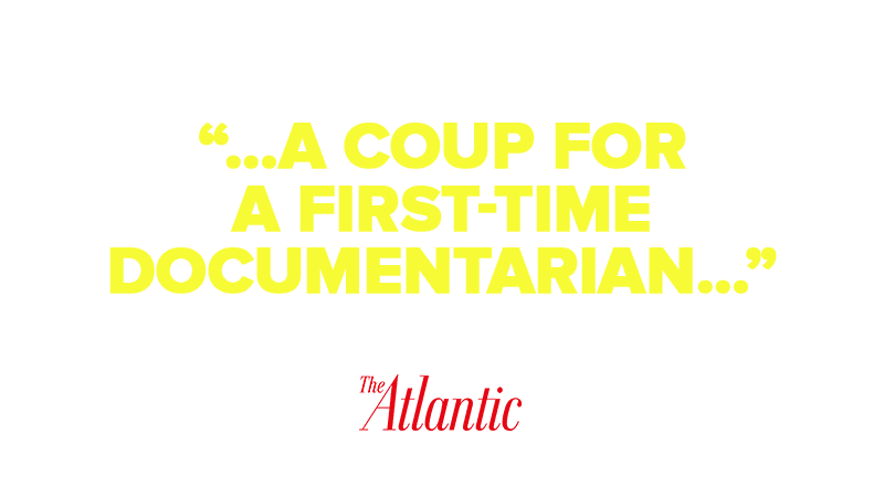 …A coup for a first-time documentarian…""