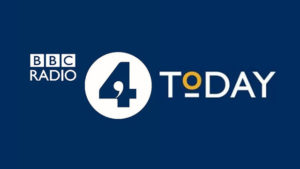 "BBC ""Today"" : Audio Interview - August 3, 2017"